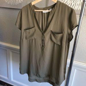 New York & Company short sleeve dress shirt